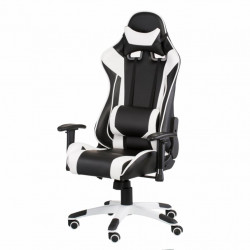 Кресло игровое Special4You ExtremeRace black/white (000002299)