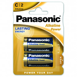 Батарейка PANASONIC C LR14 Alkaline Power * 2 (LR14REB/2BP)