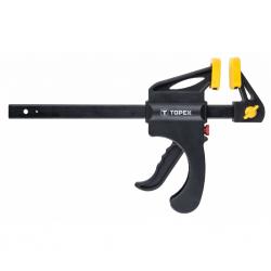 Струбцина Topex автоматическая, 200 х 60 мм (12A520)