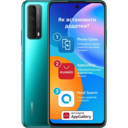 Мобильный телефон Huawei P Smart 2021 4/128Gb NFC Crush Green (51096ADV)