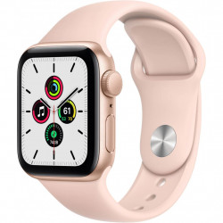 Смарт-годинник Apple Watch SE GPS, 44mm Gold Aluminium Case with Pink Sand Band (MYDR2UL/A)