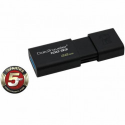 USB флеш накопитель Kingston 32Gb DataTraveler 100 Generation 3 USB3.0 (DT100G3/32GB)