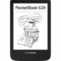 Електронна книга PocketBook 628 Touch Lux5 Ink Black (PB628-P-CIS)