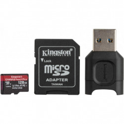 Карта памяти Kingston 128GB microSDXC class 10 Canvas React+ (MLPMR2/128GB)