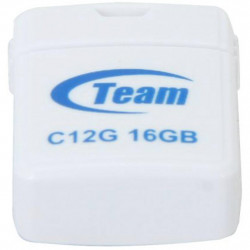 USB флеш накопичувач Team 16GB C12G White USB 2.0 (TC12G16GW01)