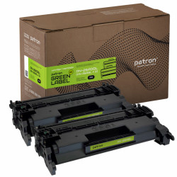 Картридж PATRON HP LJ CF226A GREEN Label (DUAL PACK) (PN-26ADGL)