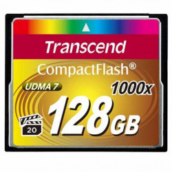 Карта пам'яті Transcend 128Gb Compact Flash 1000x (TS128GCF1000)