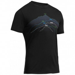 Термофутболка Icebreaker Tech Lite SS Seven MEN seven summits black M (102 441 001 M)