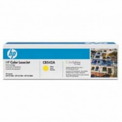 Картридж HP CLJ  125A yellow, CP1215/ CP1515 series (CB542A)