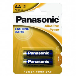 Батарейка PANASONIC LR06 Alkaline Power * 2 (LR6REB/2BP)