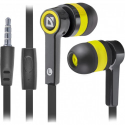 Наушники Defender Pulse 420 Yellow (63421)
