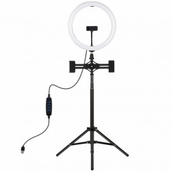 "Набір блогера Puluz Ring USB LED lamp PKT3062B 11.8"" + tripod 1.65 м (PKT3062B)"