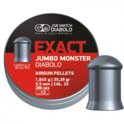 Пульки JSB Exact Jumbo Monster (546288-200)