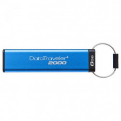 USB флеш накопитель Kingston 8GB DataTraveler 2000 Metal Security USB 3.0 (DT2000/8GB)