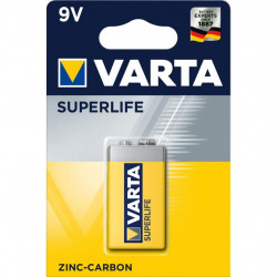 Батарейка Varta Крона 6F22 Superlife Zinc-Carbon * 1 (02022101411)