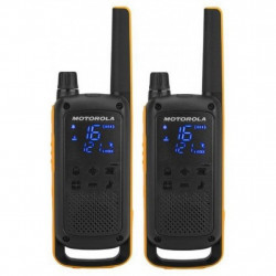 Портативна рація Motorola TALKABOUT T82 Extreme TWIN Yellow Black (5031753007171)