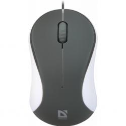 Мишка Defender Accura MS-970 Grey-White (52970)
