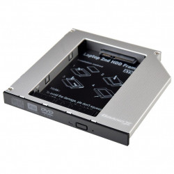 Фрейм-переходник Grand-X HDD 2.5'' to notebook 12.7 mm ODD SATA/mSATA HDC-25 (HDC-25)