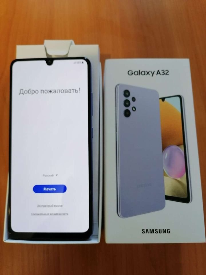 Мобільний телефон Samsung Galaxy A32 4/64Gb Light Violet (SM-A325FLVDSEK)